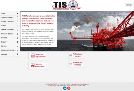 TIS Manufacturing are a company with a unique capability to design, manufacture and service, Oilfield Well Service Equipment.